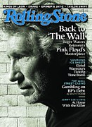 Roger Waters Prints - Rolling Stone Cover - Volume #1114 - 9/30/2010 - Roger Waters Print by Watson Albert