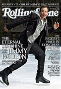 Jimmy Prints - Rolling Stone Cover - Volume #1122 - 1/20/2011 - Jimmy Fallon Print by Robert Trachtenberg