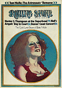 Rollingstone Posters - Rolling Stone Cover - Volume #128 - 2/15/1973 - Bette Midler Poster by Philip Hays