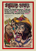 Featured Framed Prints - Rolling Stone Cover - Volume #131 - 3/29/1973 - Dr. Hook and the Medicine Show Framed Print by Gerry Gersten