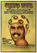 Mark Prints - Rolling Stone Cover - Volume #133 - 4/26/1973 - Mark Spitz Print by Ignacio Gomez
