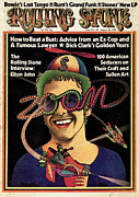 Featured Prints - Rolling Stone Cover - Volume #141 - 8/16/1973 - Elton John Print by Kim Whitesides