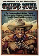 Gene Posters - Rolling Stone Cover - Volume #146 - 10/25/1973 - Gene Autry Poster by Gary Overacre