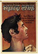 Daniel Framed Prints - Rolling Stone Cover - Volume #147 - 11/8/1973 - Daniel Ellsburg Framed Print by Dave Willardson