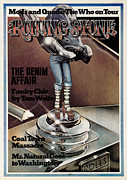 Funky Framed Prints - Rolling Stone Cover - Volume #151 - 1/3/1974 - Funky Chic Framed Print by Peter Palombi