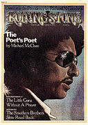 Dylan Metal Prints - Rolling Stone Cover - Volume #156 - 3/14/1974 - Bob Dylan Metal Print by Paul Davis