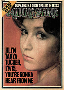 Featured Acrylic Prints - Rolling Stone Cover - Volume #170 - 9/26/1974 - Tanya Tucker Acrylic Print by Doug Metzler