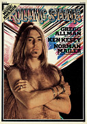 Rock N Roll Posters - Rolling Stone Cover - Volume #178 - 1/16/1975 - Gregg Allman Poster by Pete Turner