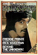 Featured Framed Prints - Rolling Stone Cover - Volume #179 - 1/30/1975 - Freddie Prinze Framed Print by Don Peterson