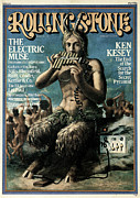 Rock N Roll Posters - Rolling Stone Cover - Volume #180 - 2/13/1975 - The Electric Muse Poster by Phil Carroll