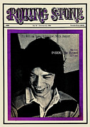 Magazine Metal Prints - Rolling Stone Cover - Volume #19 - 10/12/1968 - Mick Jagger Metal Print by Ethan Russell