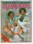 Featured Prints - Rolling Stone Cover - Volume #190 - 7/3/1975 - Labelle Print by Hiro