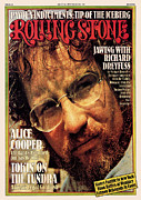 Richard Metal Prints - Rolling Stone Cover - Volume #192 - 7/31/1975 - Richard Dreyfuss Metal Print by Bud Lee