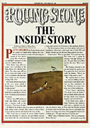 Hearst Posters - Rolling Stone Cover - Volume #198 - 10/23/1975 - Patty Hearst Poster by Jaime Putnam