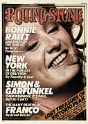 Rock N Roll Posters - Rolling Stone Cover - Volume #202 - 12/18/1975 - Bonnie Raitt Poster by Bill King