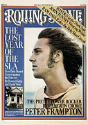 Peter Photos - Rolling Stone Cover - Volume #211 - 4/22/1976 - Peter Frampton by Francesco Scavullo