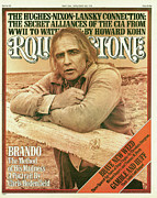 Covers Photo Prints - Rolling Stone Cover - Volume #213 - 5/20/1976 - Marlon Brando Print by Mary Ellen Mark