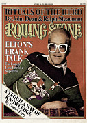Elton John Art - Rolling Stone Cover - Volume #223 - 10/7/1976 - Elton John by David Nutter