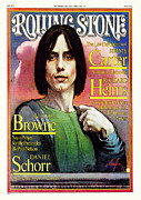 Jackson Photo Framed Prints - Rolling Stone Cover - Volume #228 - 12/16/1976 - Jackson Browne Framed Print by Daniel Maffia