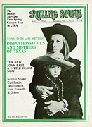 Featured Acrylic Prints - Rolling Stone Cover - Volume #23 - 12/7/1968 - Doug and Sean Sahm Acrylic Print by Baron Wolman