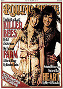 Roll Framed Prints - Rolling Stone Cover - Volume #244 - 7/28/1977 - Ann and Nancy Wilson Framed Print by Eric Meola
