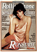 Featured Art - Rolling Stone Cover - Volume #276 - 10/19/1978 - Linda Ronstadt by Francesco Scavullo