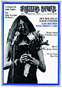 Rolling Stone Magazine Art - Rolling Stone Cover - Volume #29 - 3/15/1969 - Janis Joplin by Unknown