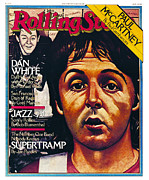 Paul Mccartney Framed Prints - Rolling Stone Cover - Volume #295 - 7/12/1979 - Paul McCartney Framed Print by Julian Allen
