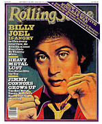 Featured Prints - Rolling Stone Cover - Volume #325 - 9/4/1980 - Billy Joel Print by Kim Whitesides