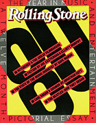 1980 Prints - Rolling Stone Cover - Volume #333 - 12/25/1980 - 1980 Yearbook Print by