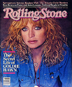 Covers Posters - Rolling Stone Cover - Volume #338 - 3/5/1981 - Goldie Hawn Poster by Denis Piel