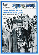 Featured Prints - Rolling Stone Cover - Volume #34 - 5/31/1969 - Jimi Hendrix Print by Franz Maier