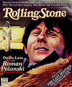 Roman Photo Prints - Rolling Stone Cover - Volume #340 - 4/2/1981 - Roman Polanski Print by Julian Allen