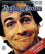 James Photo Metal Prints - Rolling Stone Cover - Volume #345 - 6/11/1981 - James Taylor Metal Print by Aaron Rapoport