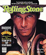 Harrison Framed Prints - Rolling Stone Cover - Volume #346 - 6/25/1981 - Harrison Ford Framed Print by Bill King
