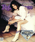 Featured Prints - Rolling Stone Cover - Volume #347 - 7/9/1981 - Margot Kidder Print by Denis Piel