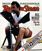 Bill Murray Framed Prints - Rolling Stone Cover - Volume #350 - 8/20/1981 - Bill Murray Framed Print by Andrea Blanch