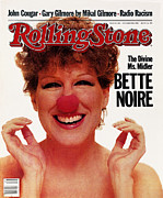 Covers Posters - Rolling Stone Cover - Volume #384 - 12/8/1982 - Bette Midler Poster by Greg Gorman