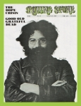 Rock N Roll Prints - Rolling Stone Cover - Volume #40 - 8/23/1969 - Jerry Garcia Print by Baron Wolman