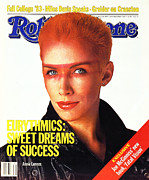 Annie Lennox Framed Prints - Rolling Stone Cover - Volume #405 - 9/29/1983 - Annie Lennox Framed Print by E.J. Camp