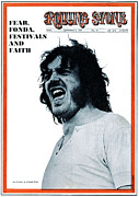 Joe Prints - Rolling Stone Cover - Volume #41 - 9/6/1969 - Joe Cocker Print by Steven Shames