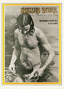 Featured Art - Rolling Stone Cover - Volume #42 - 9/20/1969 - Woodstock by Baron Wolman