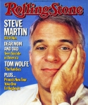 Steve Framed Prints - Rolling Stone Cover - Volume #434 - 11/8/1984 - Steve Martin Framed Print by Bonnie Schiffman