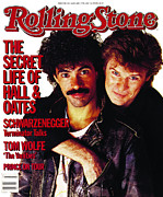 Hall Photo Prints - Rolling Stone Cover - Volume #439 - 1/17/1985 - Darryl Hall and John Oates Print by Bert Stern