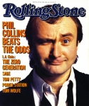 Collins Framed Prints - Rolling Stone Cover - Volume #448 - 5/23/1985 - Phil Collins  Framed Print by Aaron Rapoport