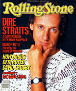 Mark Art - Rolling Stone Cover - Volume #461 - 11/21/1985 - Mark Knofler by Deborah Feingold