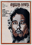 Dylan Metal Prints - Rolling Stone Cover - Volume #47 - 11/29/1969 - Bob Dylan Metal Print by Unknown