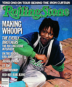 Rock N Roll Posters - Rolling Stone Cover - Volume #473 - 5/8/1986 - Whoopi Goldberg Poster by Bonnie Schiffman