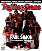 Paul Photos - Rolling Stone Cover - Volume #503 - 7/2/1987 - Paul Simon and Ladysmith Black Mambazo by Mark Seliger