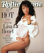 Lisa Framed Prints - Rolling Stone Cover - Volume #526 - 5/19/1988 - Lisa Bonet Framed Print by Matthew Rolston